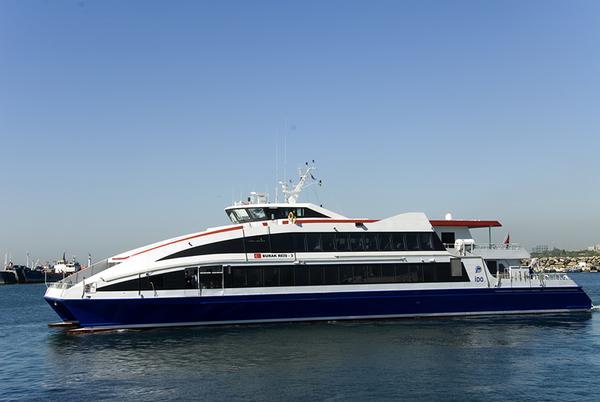 """Sea bus"" of ""IDO"" (Istanbul)"