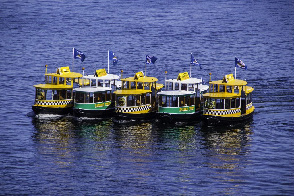 """""""Water taxi"""" in Vancouver (Canada)"""
